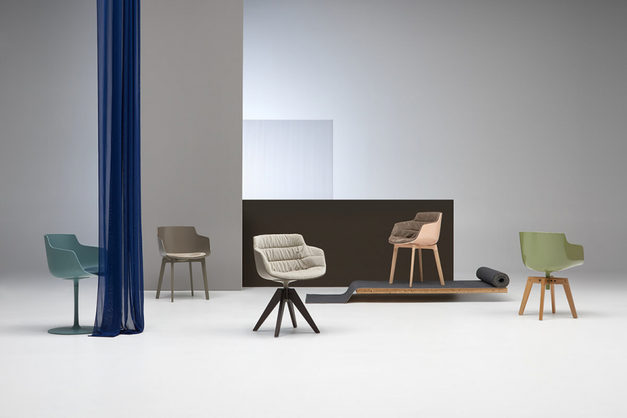 FLOW CHAIR  MDF ITALIA